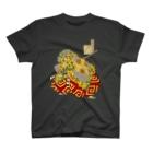 yoneumiの月百姿 朧夜月 熊坂 T-shirts