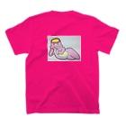 おっきなお風呂♨️インふろエンサーのふろみちゃん T-shirtsの裏面