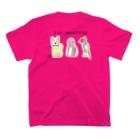 ★いろえんぴつ★のI am MOMOTAROU 2 T-shirtsの裏面
