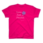 DAISY CREATE   デイジークリエイト   愛と情熱を日常で感じるのLove and Passion 素敵なライフ T-shirts