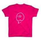 明介のゆるい血液型(A型-白) T-shirts