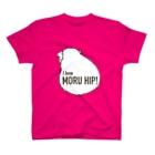 LichtmuhleのI love MORUHIP ♀ T-Shirt