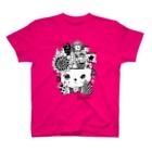 色音色のTシャツ屋さんのぼうし街のにゃんこ お星さまver. T-shirts