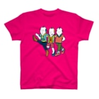 Oedo CollectionのLine Dance/濃色Tシャツ T-shirts