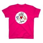 ひなげし商店のオール日本/柴犬プチ T-shirts