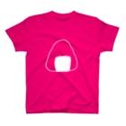 旻天堂(旧 ゆうれい星)のおにぎり(白) T-shirts