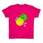 ちょりたん画伯キャラクターズショップのかぶりつきシリーズ パイナポー T-shirts