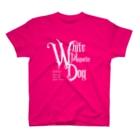 マヤ暦★銀河の署名★オンラインショップのKIN170白い磁気の犬 T-Shirt