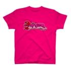 ʚ一ノ瀬 彩 公式 ストアɞの一ノ瀬彩:LOGO_POP_PINK【英語】 T-shirts