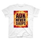 【仮想通貨】ADKグッズ(Tシャツ等)専門店 のADK NEVER SLEEPS T-shirts