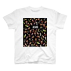ASB boxingclub SHOPのASBスタッフキャラクターアイテム(黒) T-shirts
