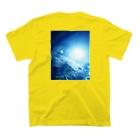 錆猫の館の龍神☆アップ T-shirtsの裏面