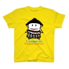 モーモーポルレノン         のワナビー横綱ボーイ(キッズイエロー) Tシャツ
