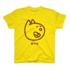 BAMI SHOPのにっこりボンくん(茶色) T-shirts