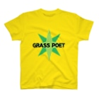 TRAUMATIC RECORDINGSのGrass Poet「I CAN'T TRUST A HUMAN」TEE T-shirts