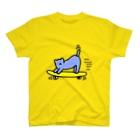 necoichiのスケボーネコ T-shirts