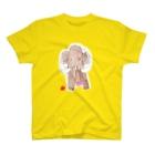★いろえんぴつ★のマンモスさん T-shirts