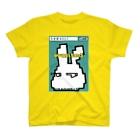 うさぎ0517のうさぎ0517★WANTED水色 T-shirts