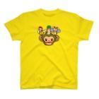 ザ・ワタナバッフルの屋久島弁シリーズ 2:ヤクザル・ヤクシカ・ウミガメ・縄文杉キャラ T-shirts