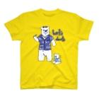 SWEET&SPICY 【すいすぱ】のダーツする白熊さん🎯 T-shirts