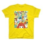 せんのおてほんちゃんと動物たち T-shirts