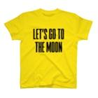 【仮想通貨】ADKグッズ(Tシャツ等)専門店 のLET'S GO TO THE MOON T-shirts