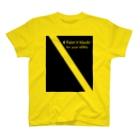 gorozomachine_storeの黒く塗れ!/右席用 T-Shirt