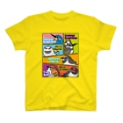 すたじお ワグテイルのコミック風なことりたち T-shirts