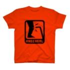2BRO. 公式グッズストアの黒「KNEE HEAL」濃色Tシャツ T-shirts