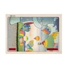 有明ガタァ商会の名所佐賀百景「佐賀インターナショナルバルーンフェスタ」 Stickable tarpaulinの横向き