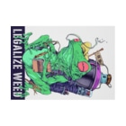 Legalize It ! のLEGALIZE IT FROG (SH11NA WORKS) Stickable tarpaulinの横向き