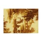 J. Jeffery Print Galleryのトワルドジュイ Toile de Jouy Stickable tarpaulinの横向き