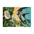 世界の絵画アートグッズのエレナー・ヴェア・ボイル 《おやゆび姫》 Stickable Posterの横向き