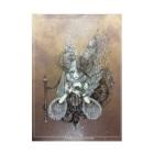 THORES柴本(トーレスしばもと) THORES Shibamotoの白姫の薔薇の願い事 吸着ターポリン