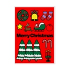 NICE ONEのMerry Christmas Stickable poster