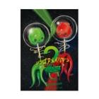 あづちひろふみのリンゴアメイリアン2 Stickable Poster