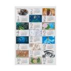 Zendaloveのカレンダー2021(クリア) Stickable poster