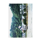 FUCHSGOLDのドイツ:ライン川を航く河川用タンカー Germany: River tanker at Rhein Stickable poster
