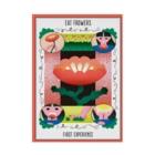 Ran Kobayashiの花を食べたら Stickable poster