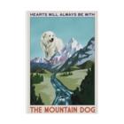 OOKIIINUのTHE MOUNTAIN DOG Stickable poster