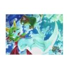 BARE FEET/猫田博人のプレアデスの両脚#04ポスター Stickable posterの横向き