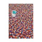NEZUMIZARU STUDIO SHOPのflower planet Stickable Poster