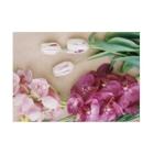 harucameraのharucamera お花 Stickable posterの横向き