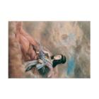 世界の絵画アートグッズの山本芳翠《十二支 丑『牽牛星』》 Stickable Posterの横向き