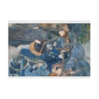 世界の絵画アートグッズのピエール=オーギュスト・ルノワール 《雨傘》 Stickable Posterの横向き