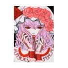 🌼*゚がーべらめらん*゚🌼の東方projectレミリアスカーレット Stickable Poster
