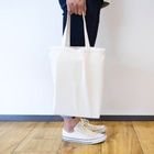 DIALAND LOVERSのDIALAND CITY WHITE Tote bagsの手持ちイメージ