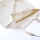 灯さかすのHello!バーコード Tote bagsの素材感