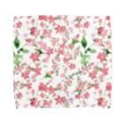 Tom's Factoryの水彩花柄[可愛い 女子向け] Towel handkerchiefs