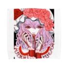 🌼*゚がーべらめらん*゚🌼の東方projectレミリアスカーレット Towel Handkerchief